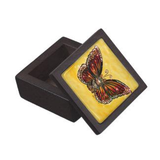 Coffrets Cadeaux De Première Qualité Bois de chat de papillon et boîte-cadeau féeriques
