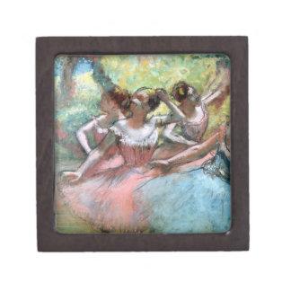 Coffrets Cadeaux De Première Qualité Edgar Degas | quatre ballerines sur l'étape