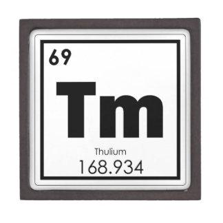 Coffrets Cadeaux De Première Qualité Formule de chimie de symbole d'élément chimique de