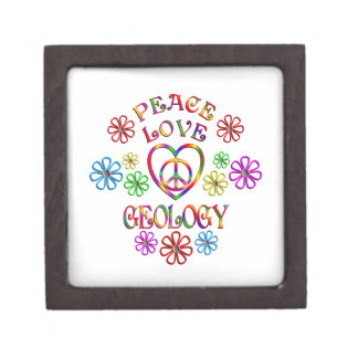 Coffrets Cadeaux De Première Qualité Géologie d'amour de paix