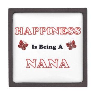 Coffrets Cadeaux De Première Qualité Le bonheur est Nana