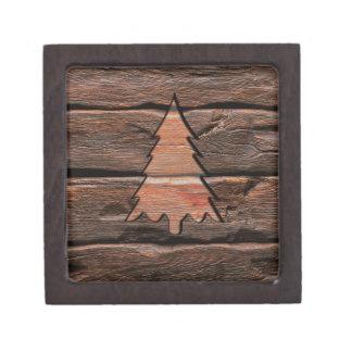 Coffrets Cadeaux De Première Qualité Texture à feuillage persistant gravée par bois