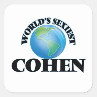 Cohen le plus sexy du monde stickers carrés