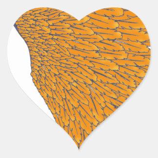 coiffe indienne 1 sticker cœur