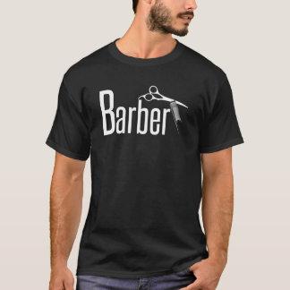 Coiffeur en texte d'amusement t-shirt