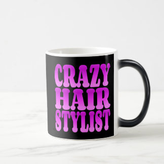 Coiffeur fou mug magic