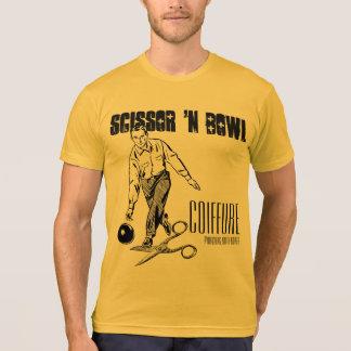 Coiffure de cuvette de n de ciseaux '.  Édition T-shirt