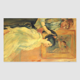 Coiffure par Berthe Morisot Autocollants
