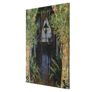 Coin de Claude Monet | d'un appartement à Toile