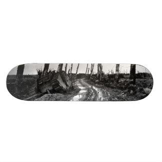 Coin de la rue dans Poelcapelle Belgique 12/19/191 Skateboard Customisable