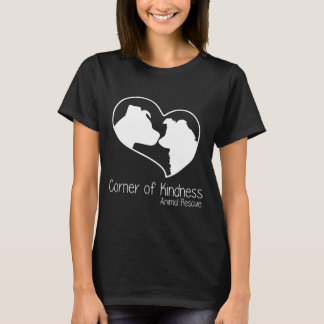 Coin du T-shirt des femmes de gentillesse
