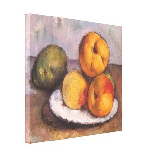Coing, pommes et poires par Paul Cezanne Toiles