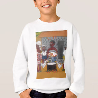 Col gentil mignon de ferme traditionnelle sweatshirt