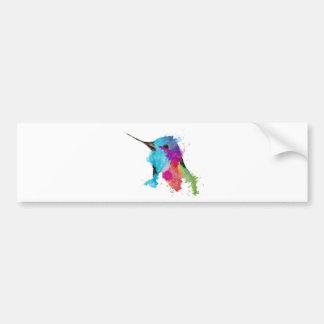 colibri autocollant pour voiture