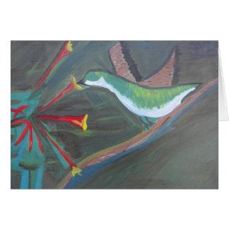 Colibri Carte De Vœux