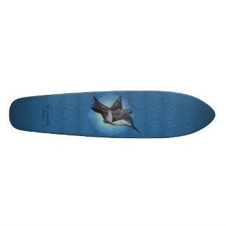 Colibri - copybhu de plate-forme de logo skateboard old school 18,1 cm