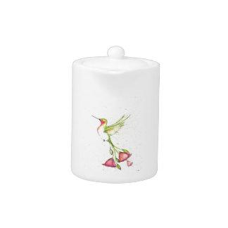 colibri de queue de fleur