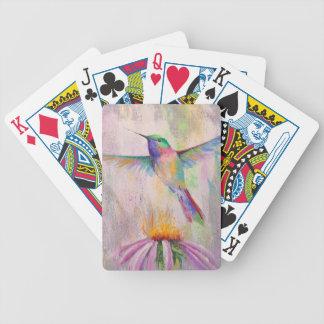 Colibri de vol jeu de cartes
