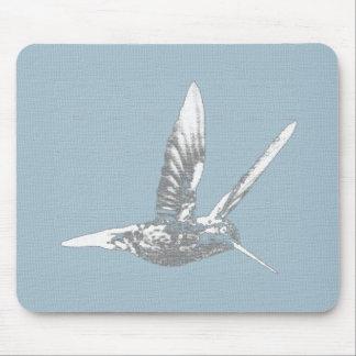 Colibri gris Mousepad Tapis De Souris