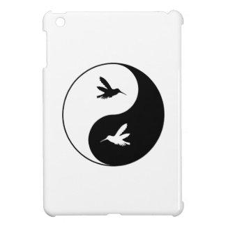 Colibris de Yin Yang Coque iPad Mini