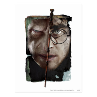 Collage 10 de Harry Potter Carte Postale