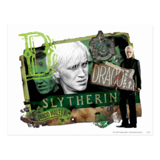 Collage 1 de Malfoy de Draco Cartes Postales