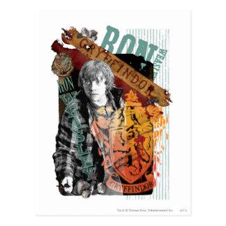 Collage 1 de Ron Weasley Cartes Postales