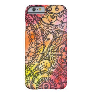 Collage chaud de mandala par Megaflora Coque iPhone 6 Barely There