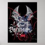 Collage d'aile de Batman Poster
