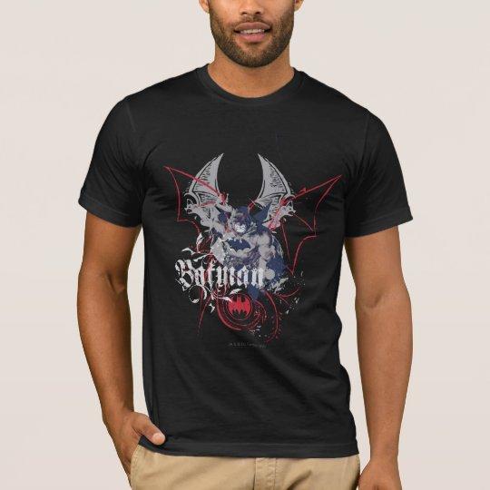 Collage d'aile de Batman T-shirt
