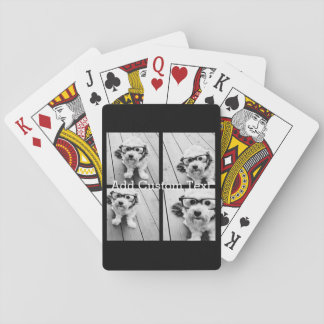 Collage de 4 photos - vous pouvez changer la jeu de cartes