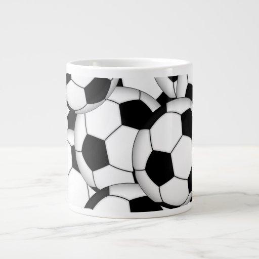 Collage de ballon de football mugs jumbo