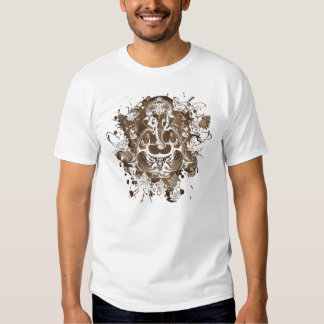 collage de ganesh t-shirt