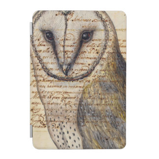 Collage de hibou de grange protection iPad mini