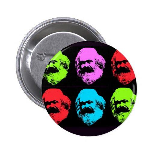 Collage de Karl Marx Badges Avec Agrafe