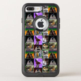 Collage de photo de poulet, cas plus de l'iPhone 7