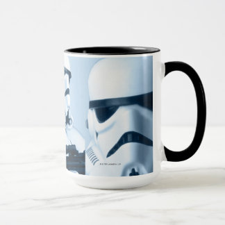 Collage de photo de soldat de la cavalerie de mug