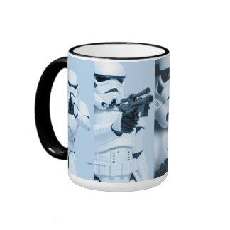 Collage de photo de soldat de la cavalerie de mug ringer