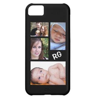 Collage fait sur commande de photo personnalisable coque iPhone 5C