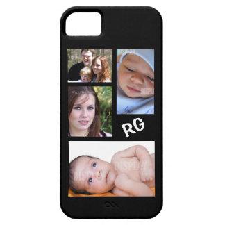 Collage fait sur commande de photo personnalisable iPhone 5 case