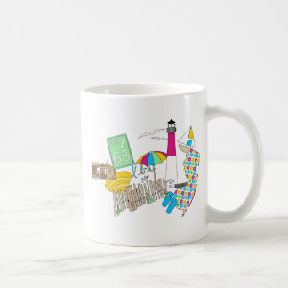 Collage Girly d'amour de LBI Mug