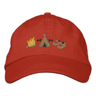 Collage indigène casquette brodée