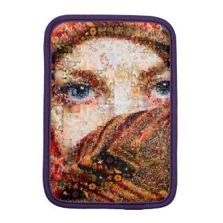 Collage-oeil-fille bédouine de fille-oeil de housse iPad mini