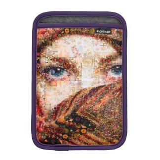 Collage-oeil-fille bédouine de fille-oeil de housse pour iPad mini