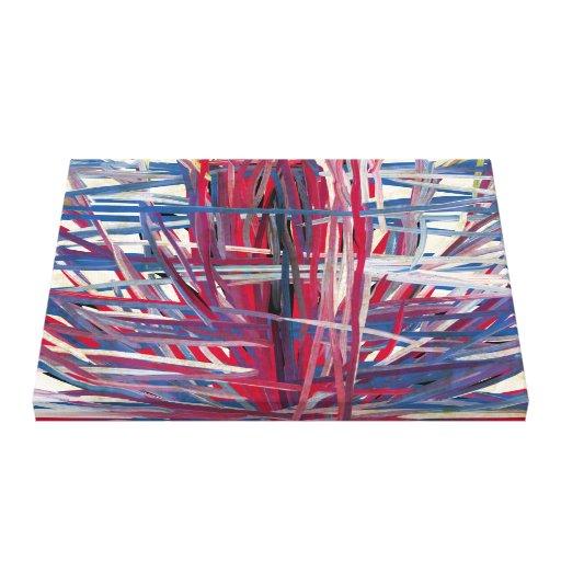 Collagène - copie enveloppée de toile toiles tendues sur châssis