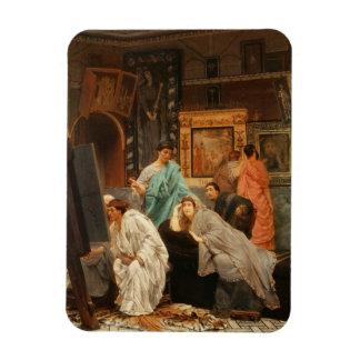 Collecteur d'Alma-Tadema | à l'heure d'Augustus Magnet Flexible