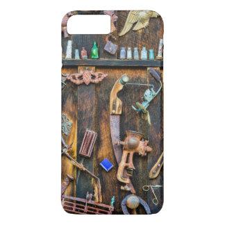 Collection antique sur le mur coque iPhone 8 plus/7 plus