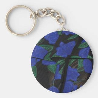 Collection bleue persane 2017 de concepteur porte-clé rond