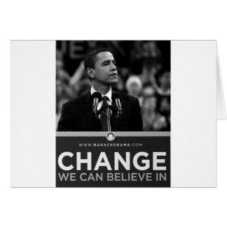 Collection de Barak Obama Cartes De Vœux