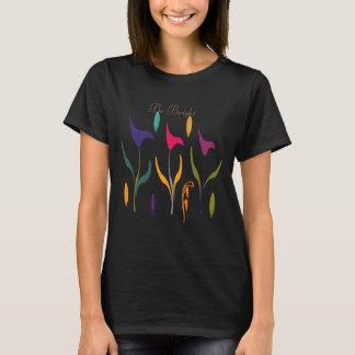 Collection de chute : T-shirt floral lumineux